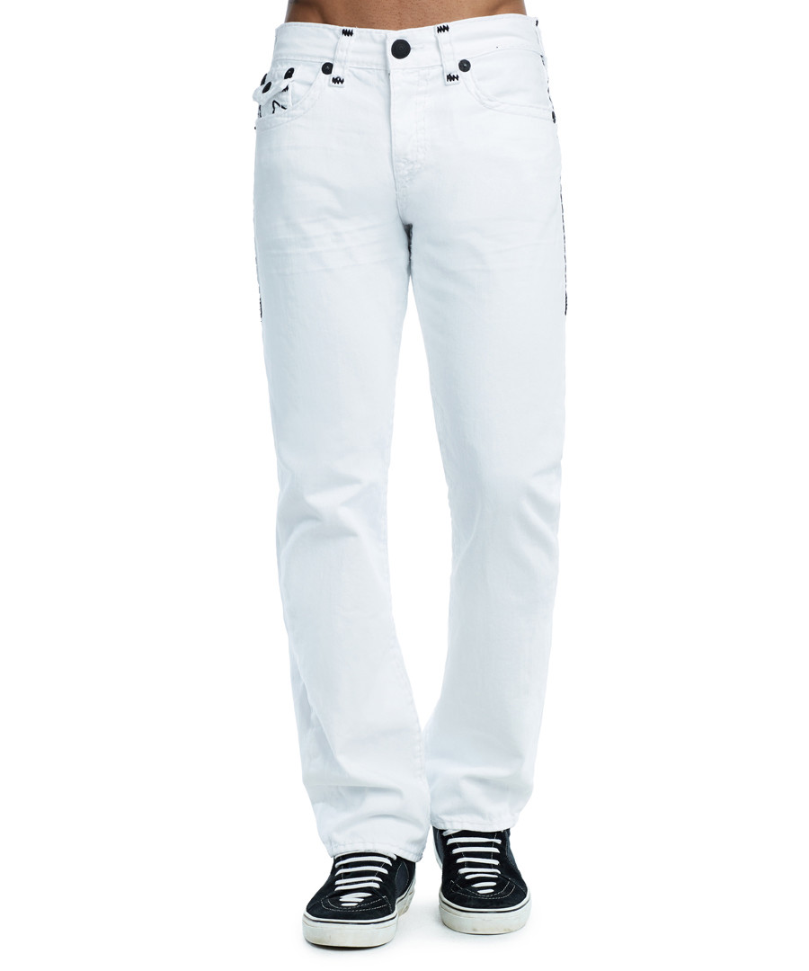 matches ricky flap straight jeans Sale - true religion
