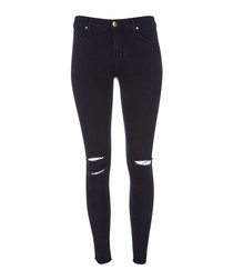 8227 blue mercy mid-rise skinny jeans