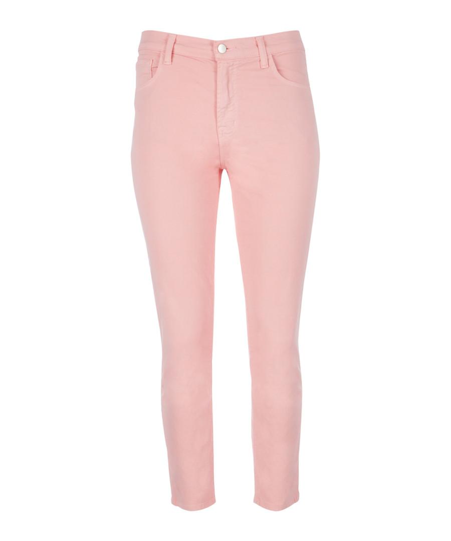 Ruby blossom pink cigarette crop jeans Sale - J Brand