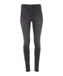 Maria night bird high-rise skinny jeans