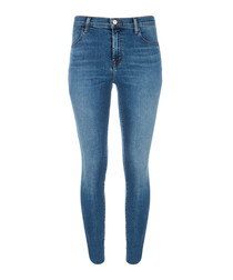 Alana delphi high-rise crop skinny jeans
