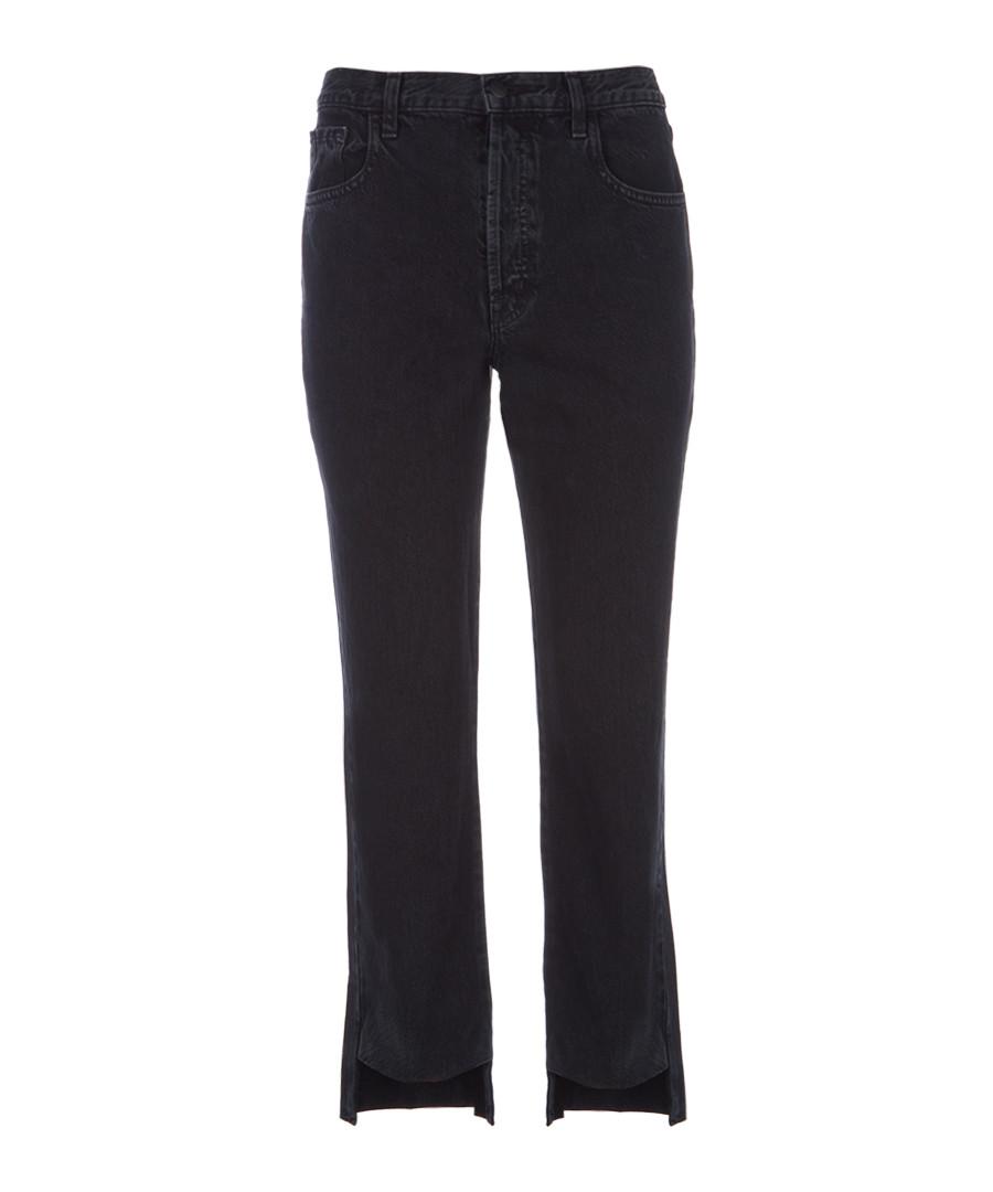 Wynne high-rise crop straight jeans Sale - j brand