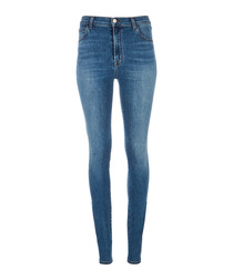 Carolina delphi super-high skinny jeans