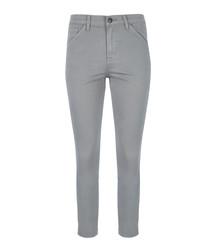 Ruby slate crop jeans