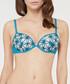 Marine petal tile push-up bra Sale - lou Sale