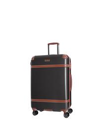 Venicia graphite suitcase 76cm