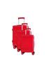 3pc redhill coral suitcase set Sale - platinium Sale
