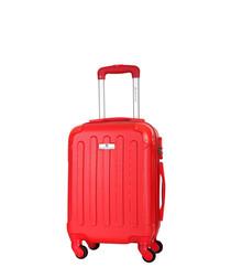allgood red suitcase 56cm
