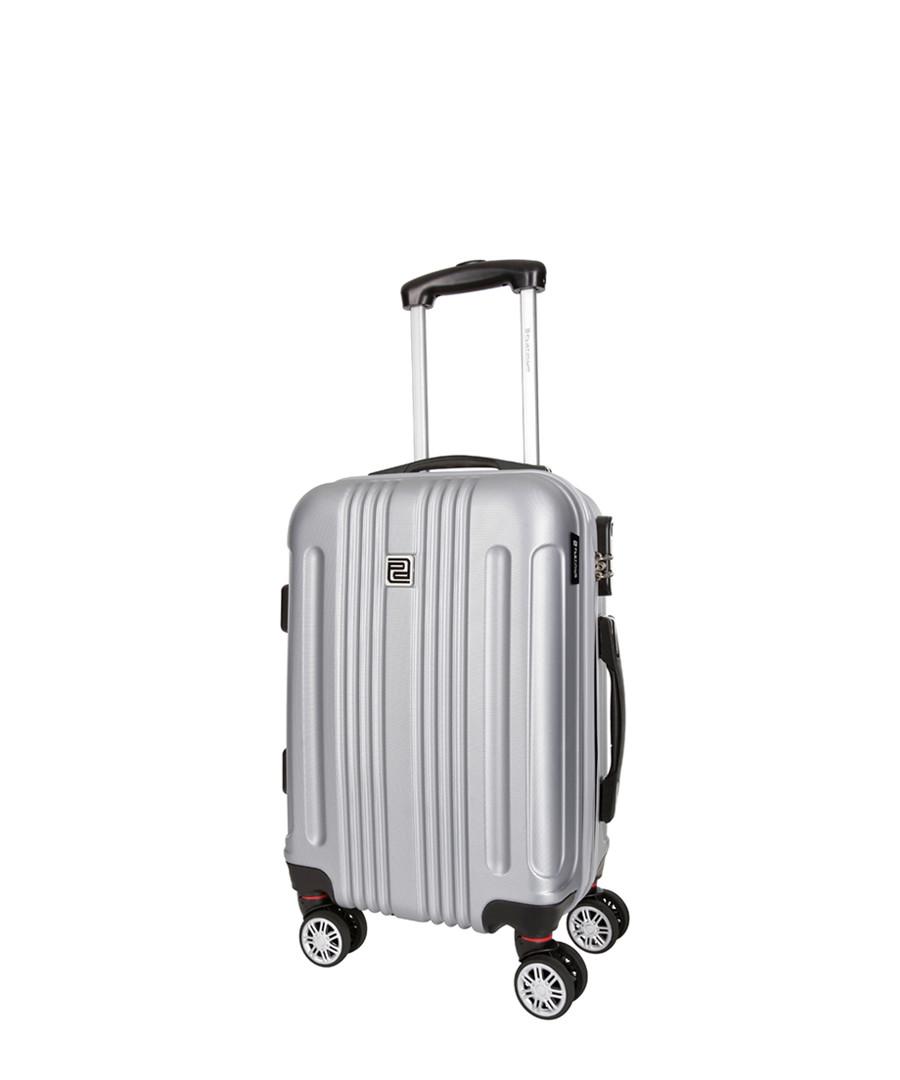 stafford silver-tone suitcase 56cm Sale - platinium