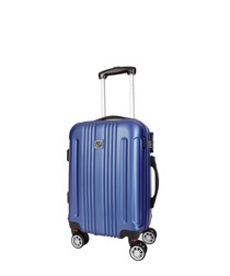 stafford blue suitcase 66cm