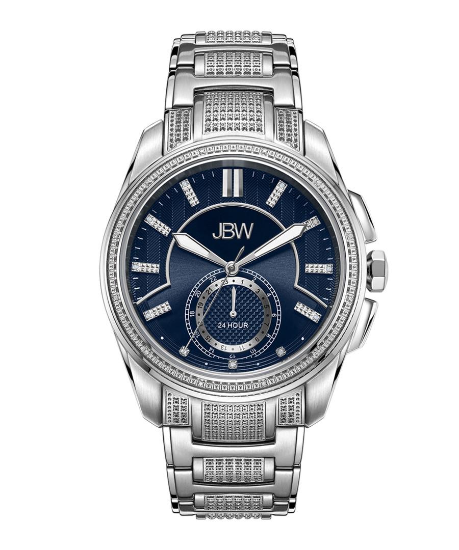 Prince silver-tone diamond watch Sale - jbw