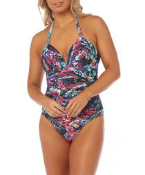 Hourglass Alina buckle swimsuit