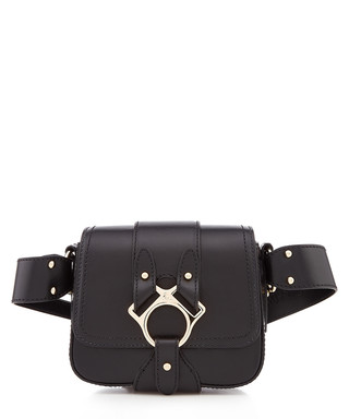 0e87b6d609 Folly Small black calfskin saddle bag Sale - vivienne westwood Sale