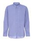 Navy check & heart button-collar shirt Sale - moschino Sale