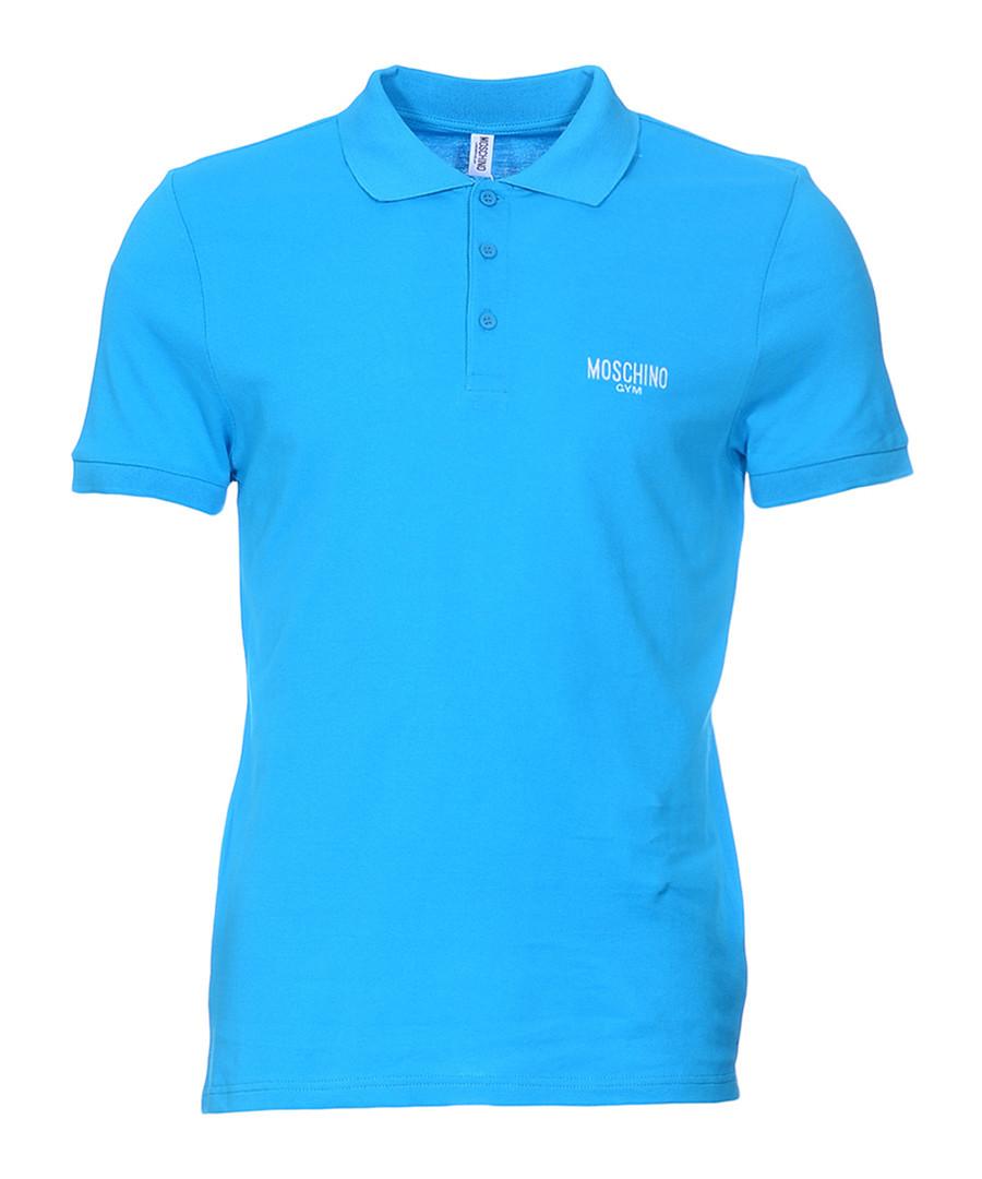 Sky pure cotton piqué polo shirt Sale - moschino