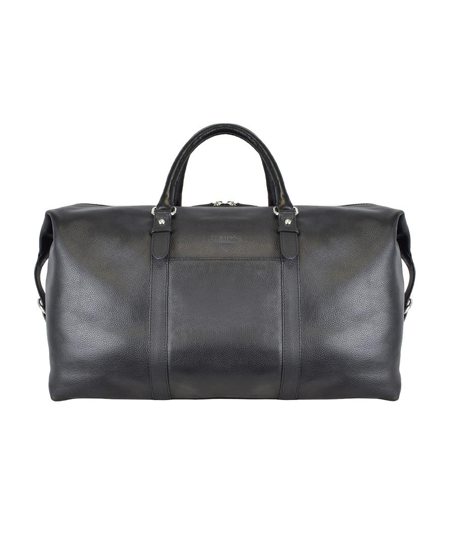 bermuda large walnut leather holdall Sale - Duchamp