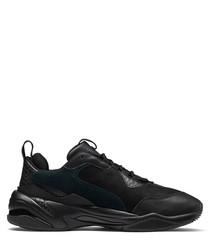 Thunder Desert black leather sneakers