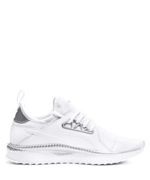 Tsugi Apex Jewel white textile sneakers