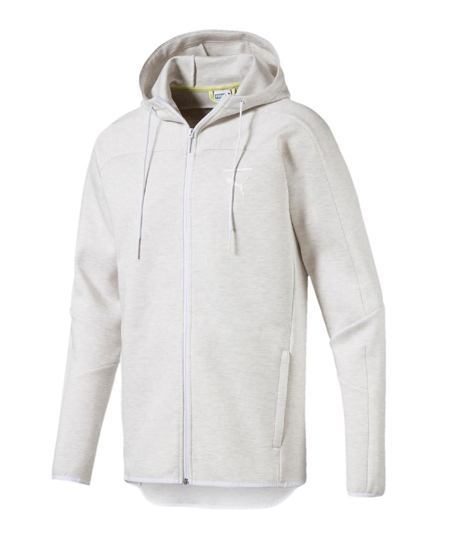 Pace Primary ash cotton blend hoodie Sale - puma