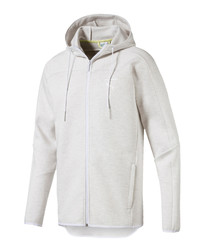 Pace Primary ash cotton blend hoodie