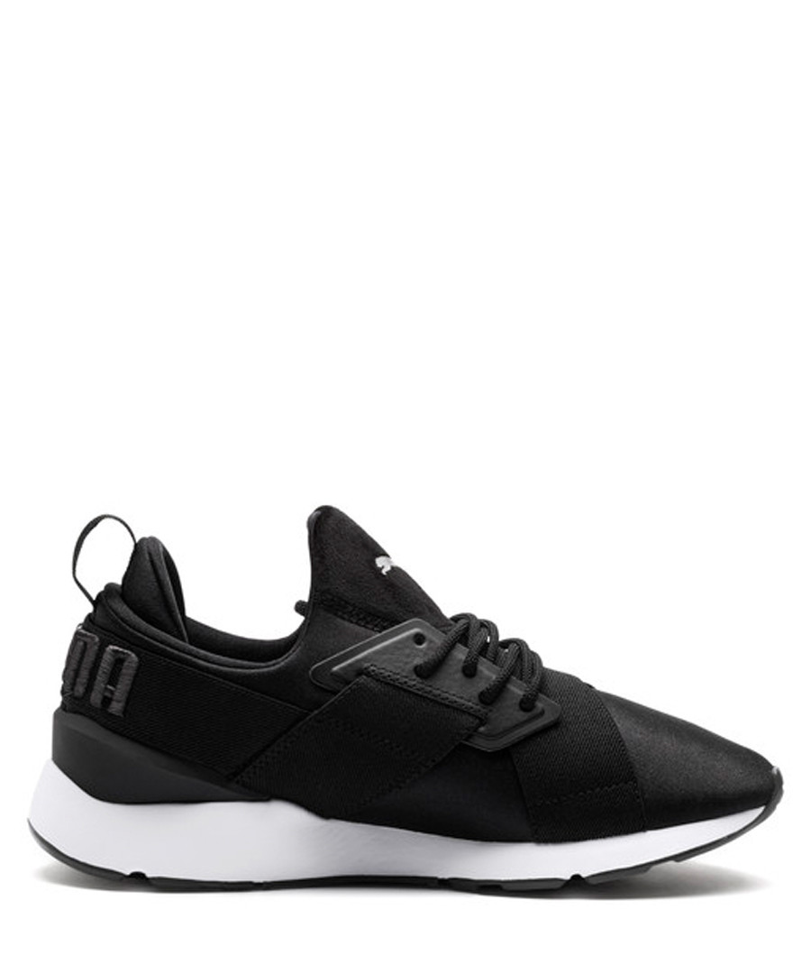 Muse Satin II black sneakers Sale - puma