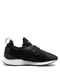 Muse Satin II black sneakers