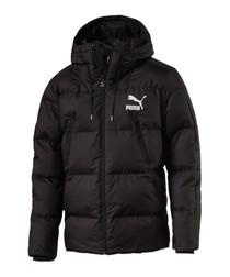 Classics black padded coat