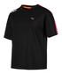 Chase black cotton blend T-shirt Sale - puma Sale