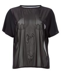 Explosive black blend T-shirt