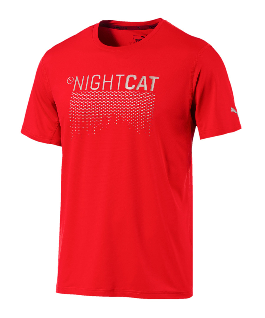 Women's Nightcat red active T-shirt Sale - puma