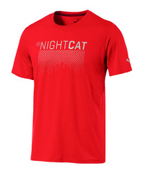 Women's Nightcat red active T-shirt