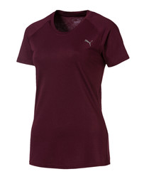 A.C.E. plum cotton blend active T-shirt