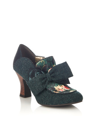 56610eaae098 Astrid deep green bow ankle boots Sale - ruby shoo Sale