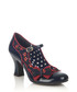 Camilla navy & red bow court heels Sale - ruby shoo Sale