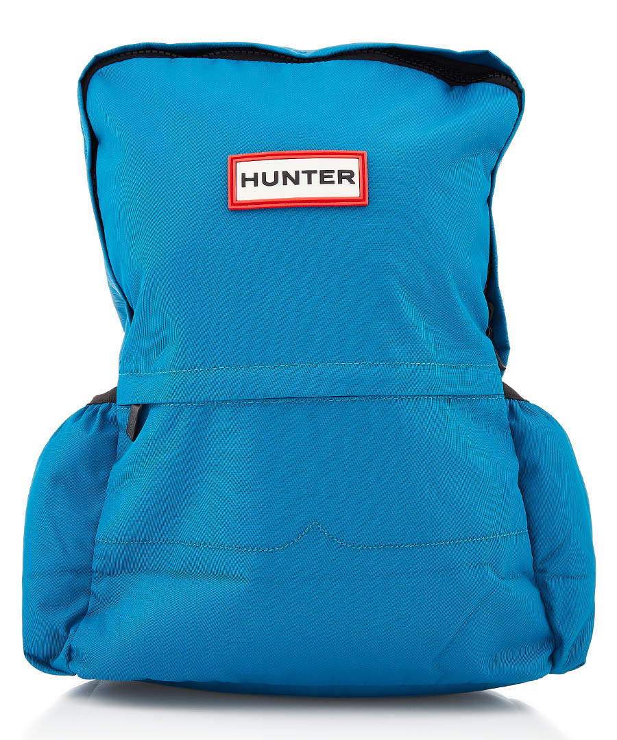 Original large aqua nylon backpack Sale - Hunter
