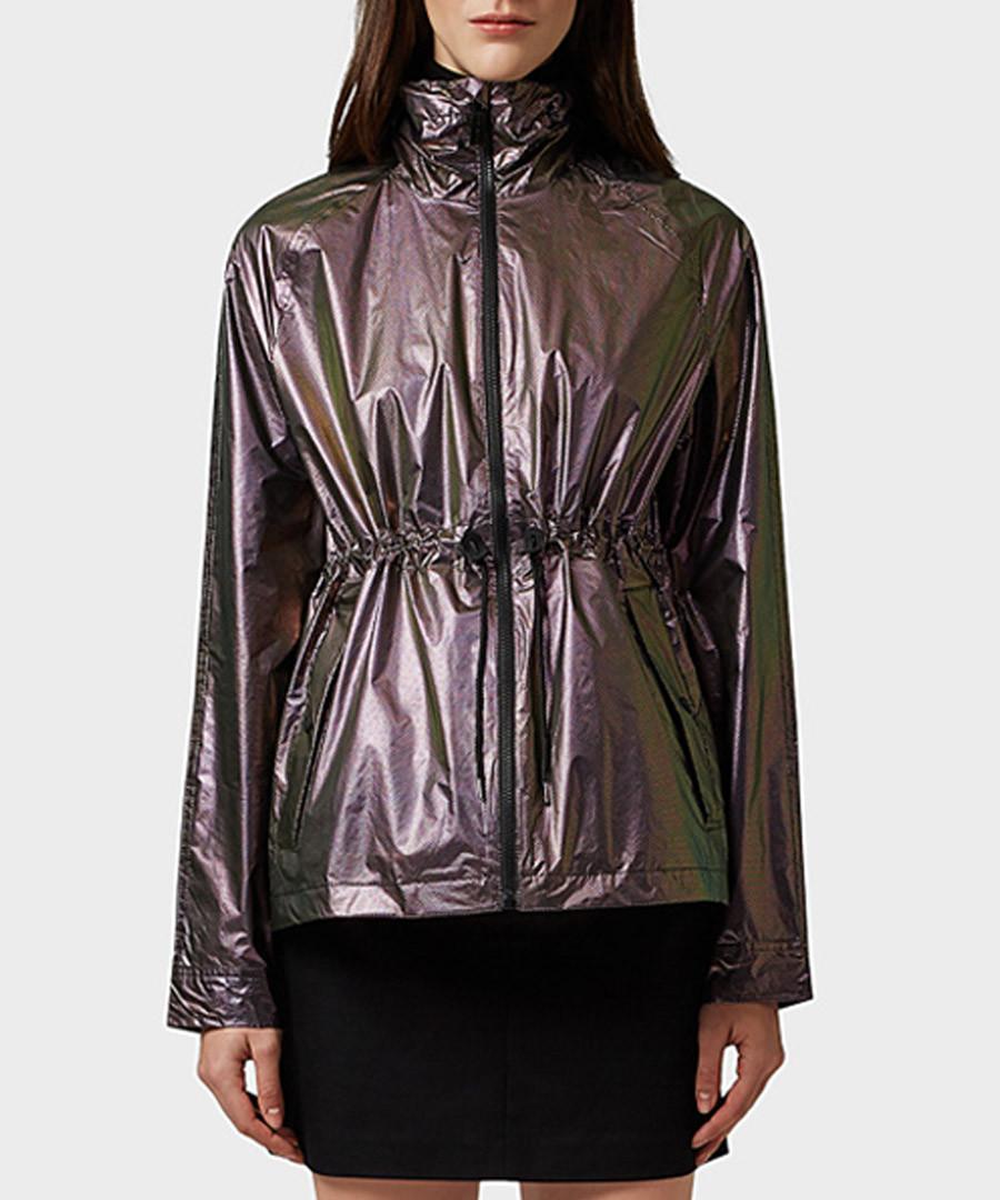 2638fc936f57b Discount Oil pearlescent packable jacket | SECRETSALES