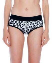 Leopard print bikini bottoms