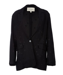Hampton black scatter blazer