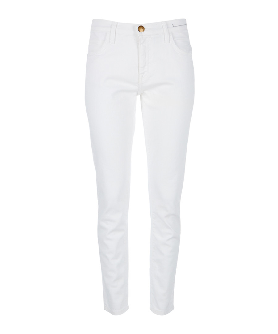 The Fling white slim boyfriend jeans Sale - Current Elliott