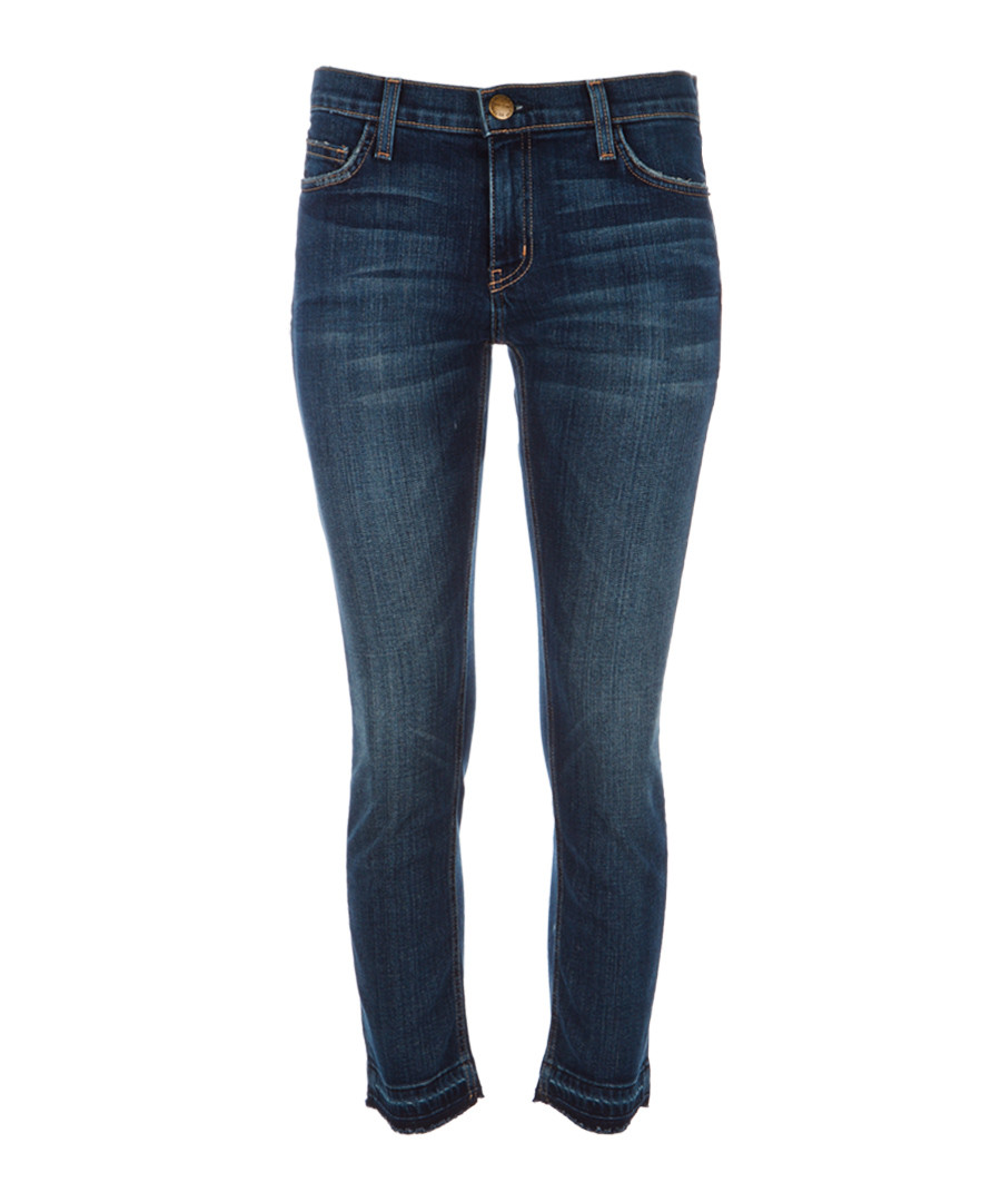 The Cropped Straight blue jeans Sale - Current Elliott