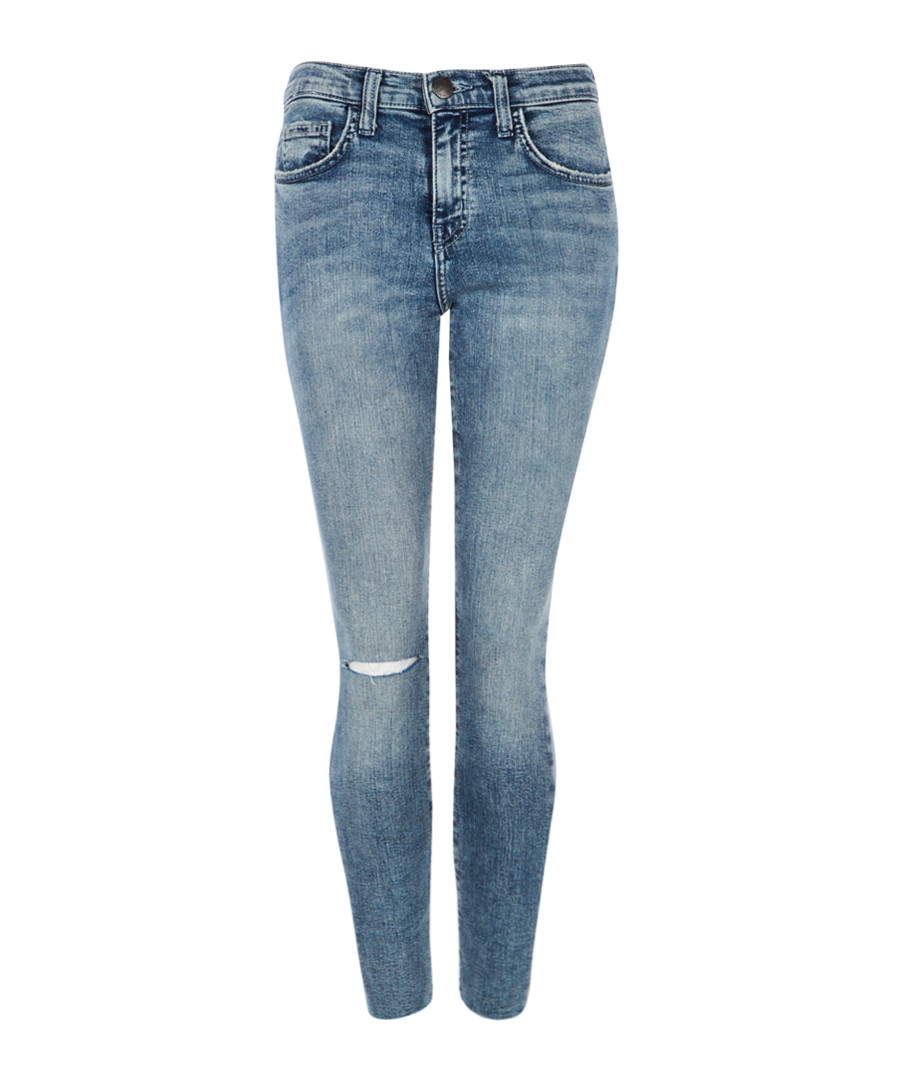 The High Waist Stiletto blue slim jeans Sale - Current Elliott