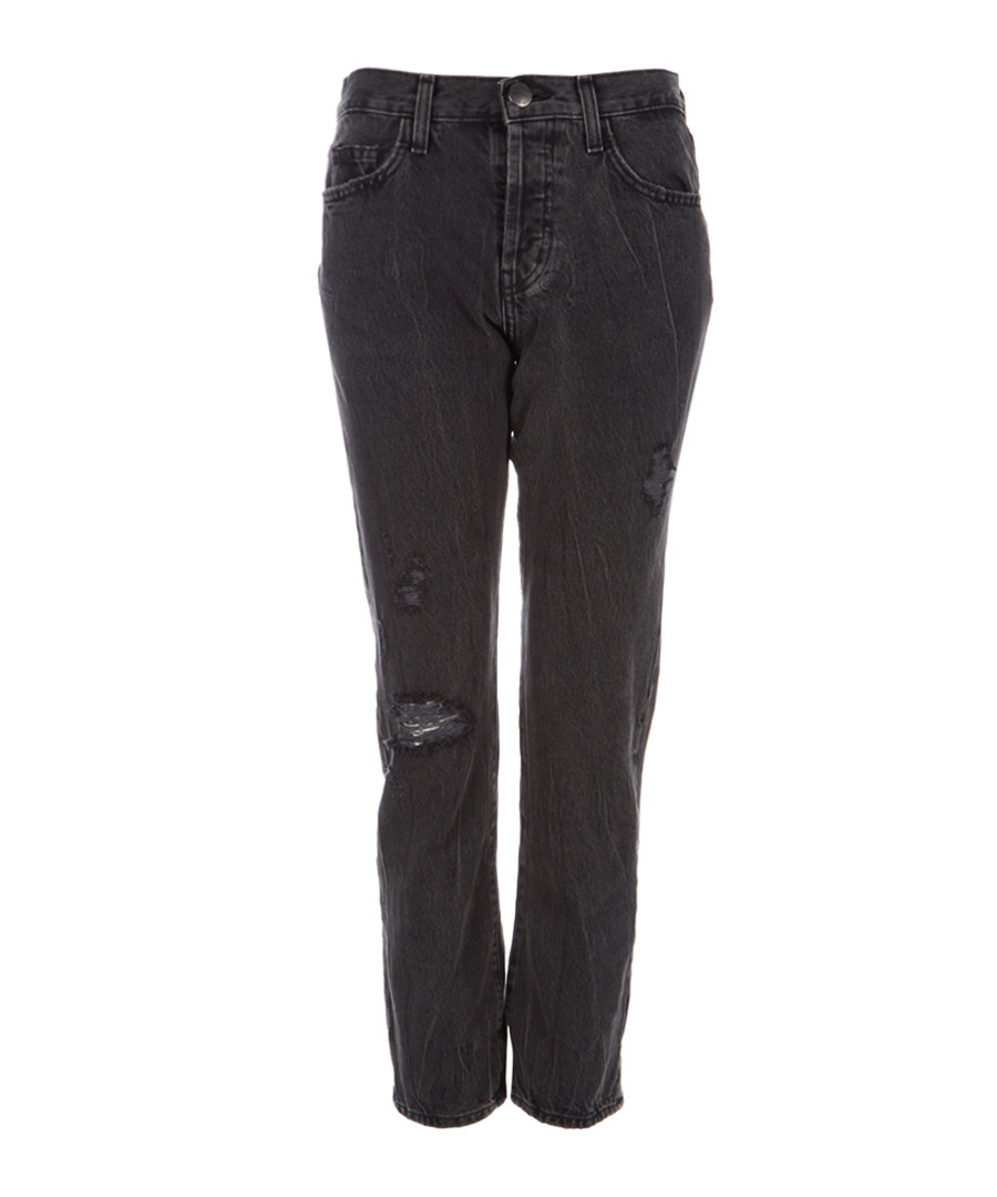 The Original Straight black cropped jeans Sale - Current Elliott