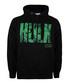 HULK black cotton blend hoodie Sale - marvel Sale