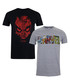 2pc men's pure cotton T-shirt set Sale - marvel Sale