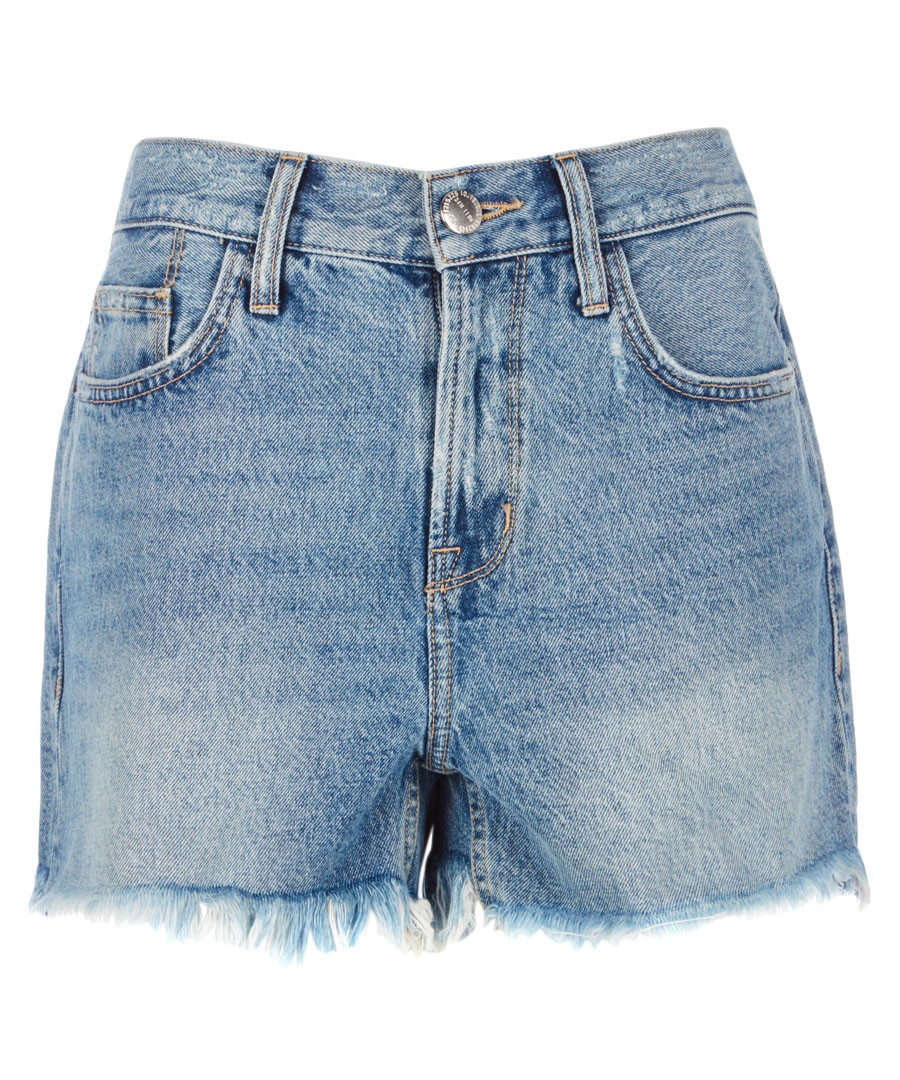 The 'His' cut-off blue shorts Sale - Current Elliott