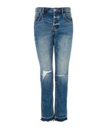 The Throwback blue original jeans