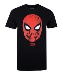 Men's Spiderman black T-shirt