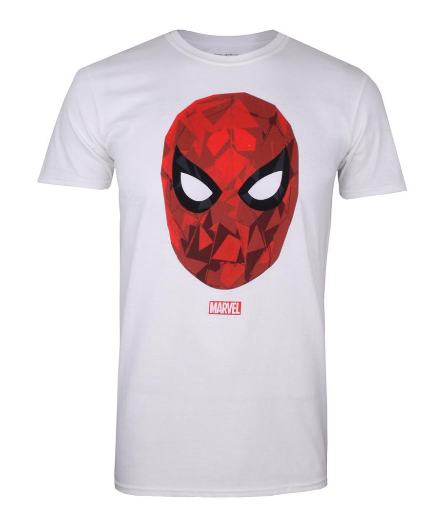 Men's Spiderman white T-shirt Sale - marvel