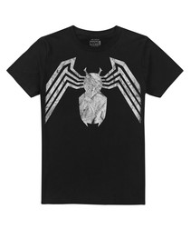 Men's Venom black emblem T-shirt