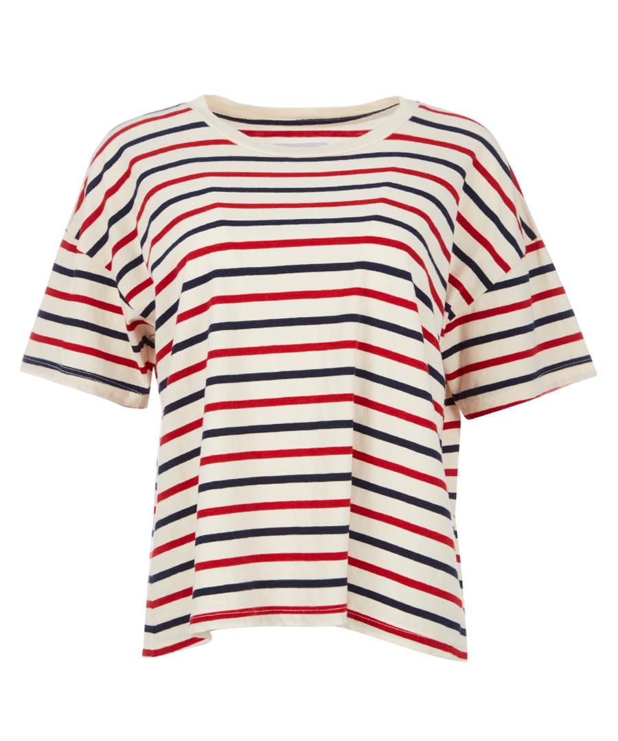 The Roadie stripe T-shirt Sale - Current Elliott